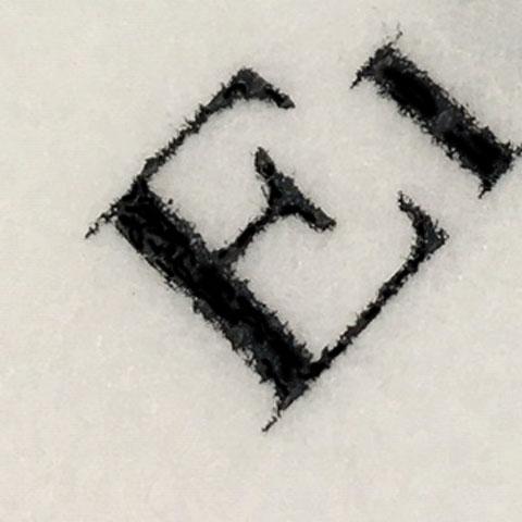 ロゴ印刷部分アップ