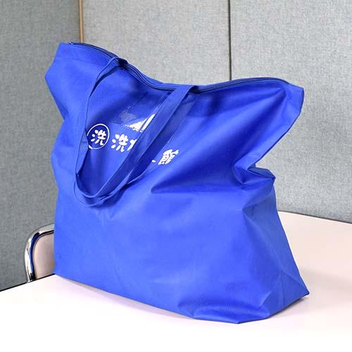不織布90gを使用した丈夫なショルダーバッグ