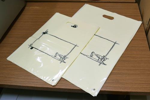 LDPEの滑らかな素材。