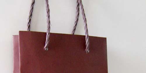 アルミ容器持ち帰り専用で作る、フルオーダーメイドによるオリジナル手提げ紙袋。