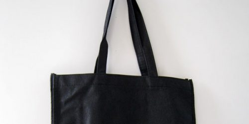 建築士事務所向け〈不織布角底手提げ袋〉