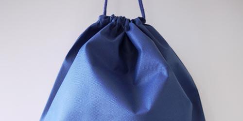 大型染物収納用不織布巾着袋