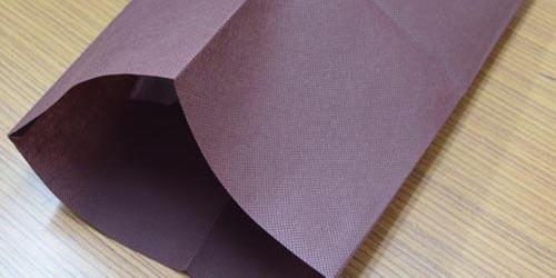 結婚式アルバム用。フルオーダーメイドによるオリジナル製作の不織布平袋。
