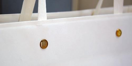 ブティックでお使い頂いている、フルオーダーメイドによるオリジナル手提げ紙袋(小ロット可)