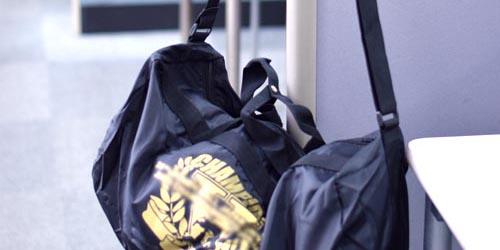 スポーツクラブ様向けのオリジナル製作ドラムバッグ