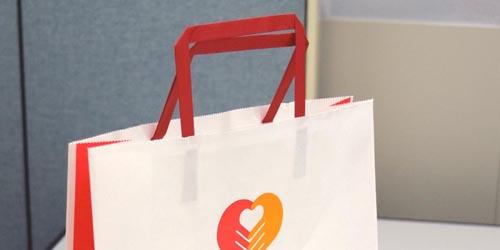 企業様頒布・営業ツール用 手提紙袋