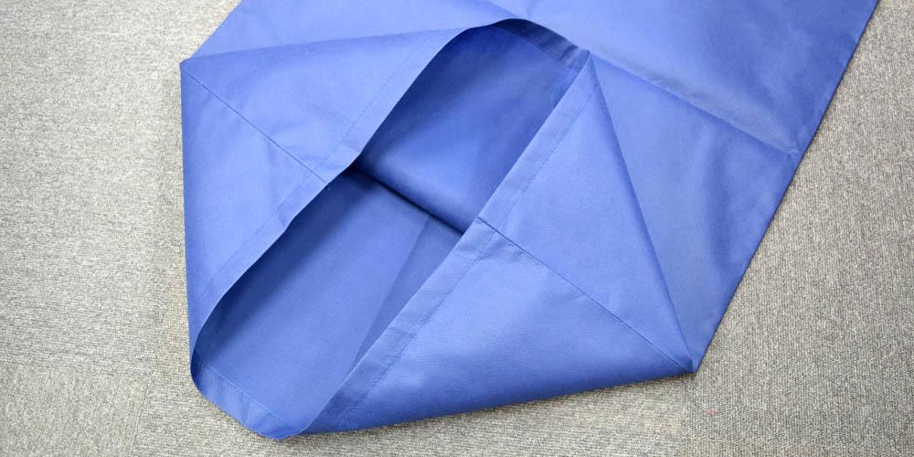 商品検品、製品素材分類に最適な仕分け用不織布平袋