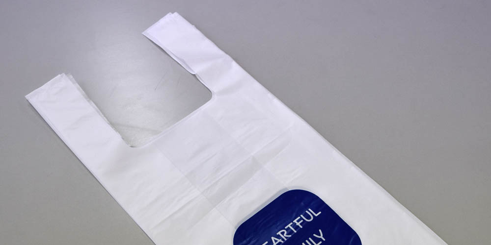 歯科医向け、商品お持ち帰り用レジ袋(U-bag)バイオマス対応