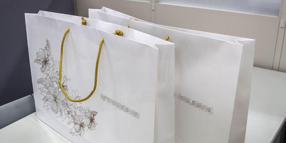 大手アパレルショップ様向け特大サイズ紙袋