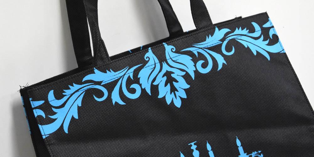 高級ドッグウェア店様向けの不織布製ショッパー(大サイズ)