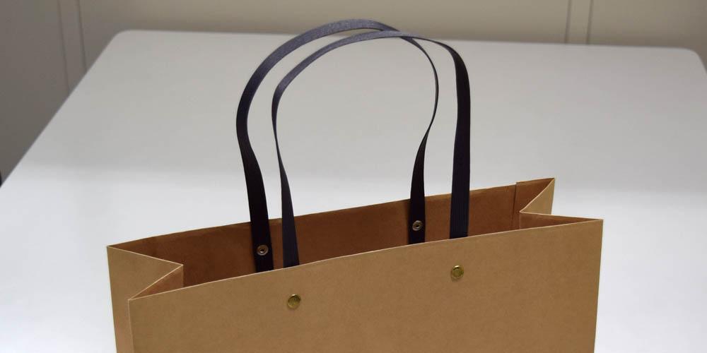 大手マッサージ機メーカー様向けの展示会用紙袋(2)