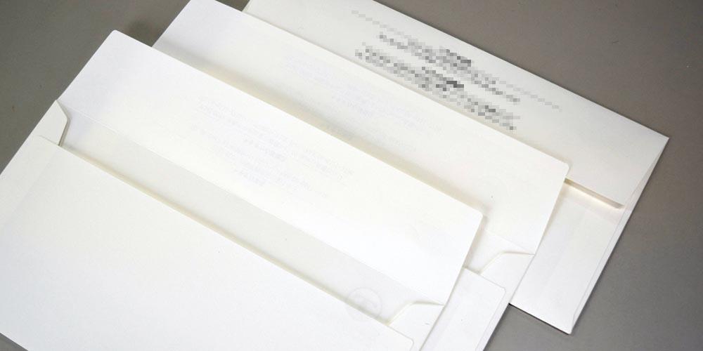 汎用長3カマス封筒