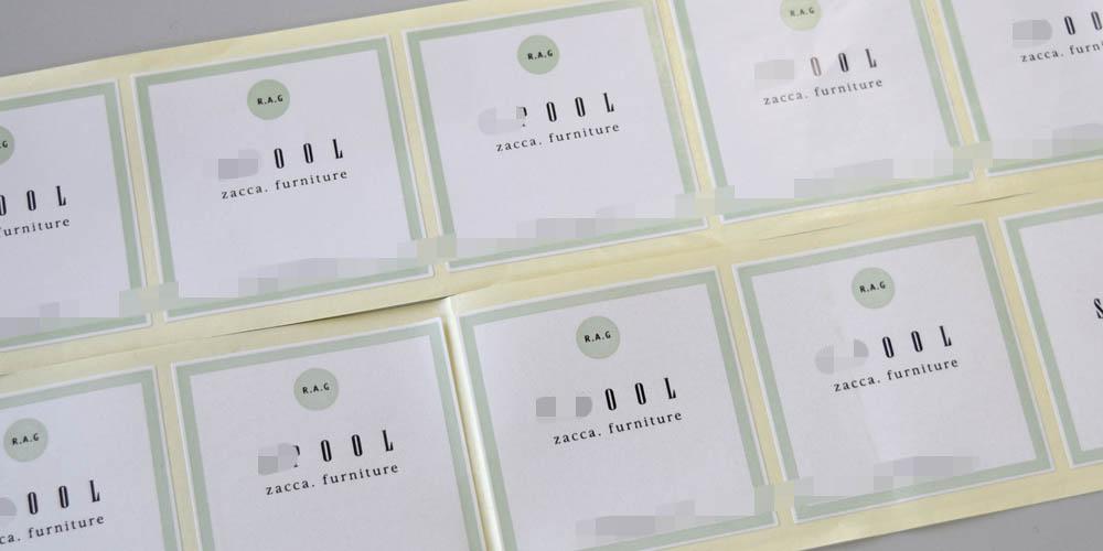 商品封緘に便利な包装用ラベルシール