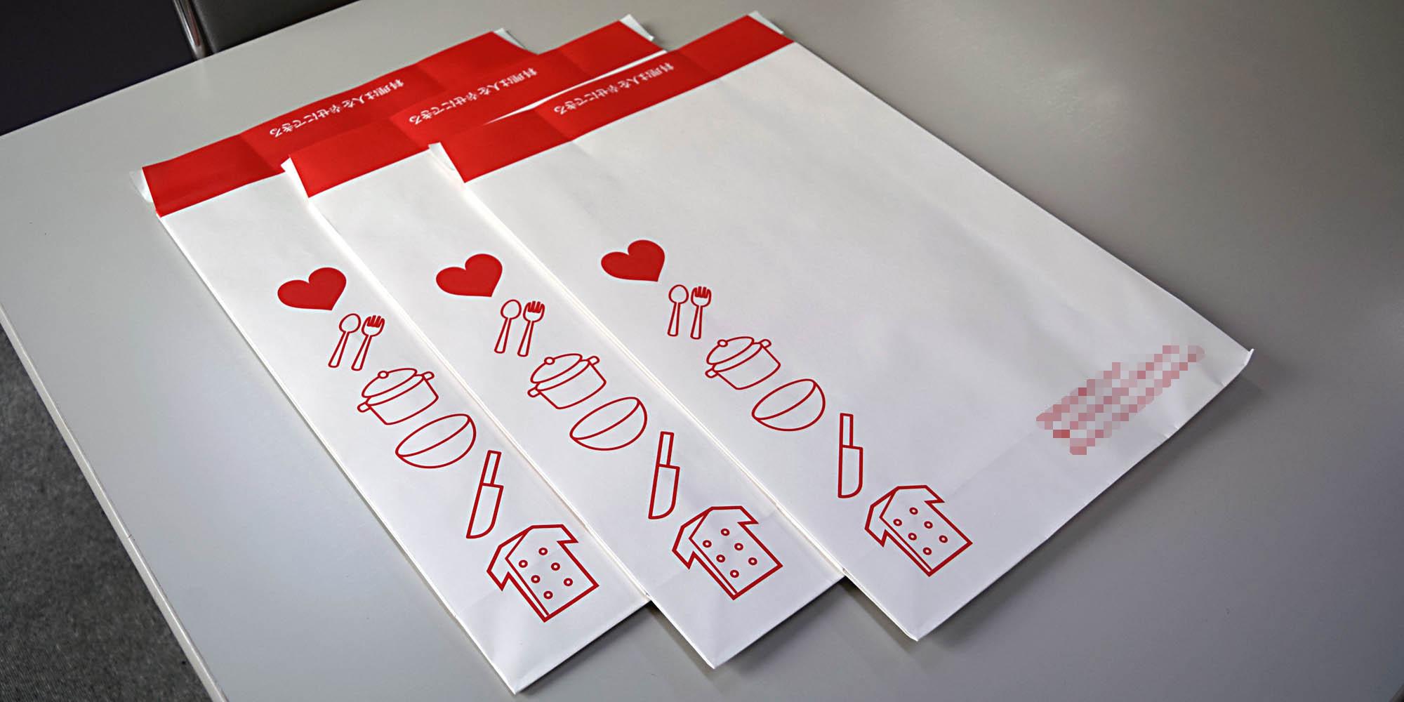 マットPP加工を施した、高級感のあるオリジナル宅配袋(制服製造メーカー様向け)