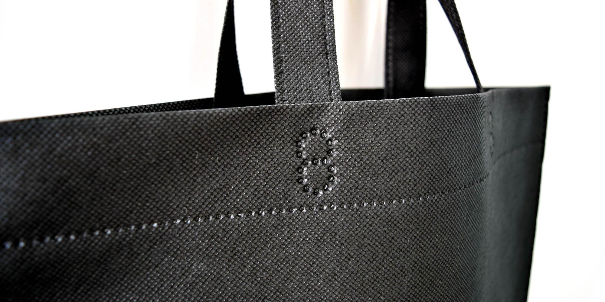 ハウスメーカー開催のモデルハウス・イベント用。低価格の超音波縫製のA3不織布バッグ。